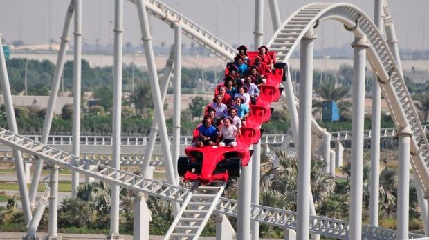 Ferrari World Abu Dhabi The World S Largest Indoor Amusement Park Tripplannings